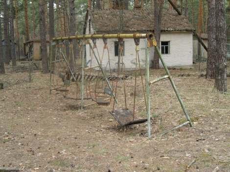 Summer camp swings